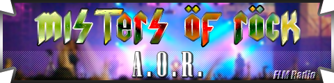 Misters of Rock: 01 A.O.R. - FLM Radio - banner