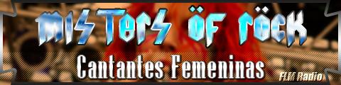 Misters of Rock: 04 Cantantes Femeninas - FLM Radio - banner