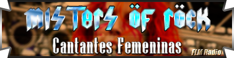Misters of Rock: 04 Cantantes Femeninas - FLM Radio - banner