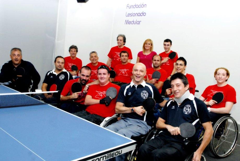 Deporte sin barreras: Escuela de tenis de mesa en silla de ruedas de la Fundación Lesionado Medular