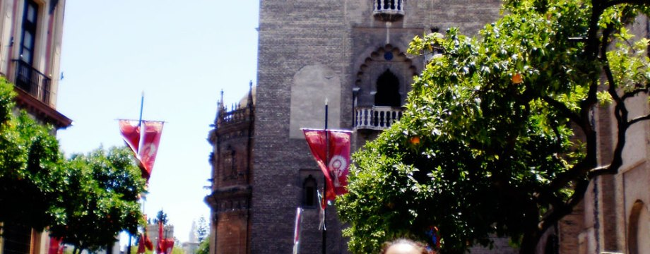 Sevilla adaptada: Maria José y Jose los turistas
