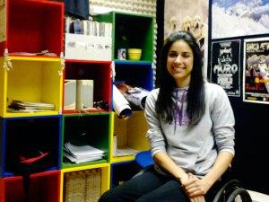 Veteranas y noveles: Sara, una luchadora novel