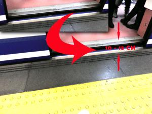 Foto denuncia de la inaccesibilidad del Metro de Madrid - FLM Radio
