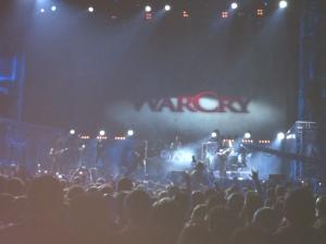 Concierto de Warcry en Madrid