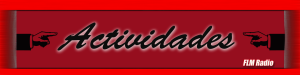 Actividades - FLM Radio - Banner