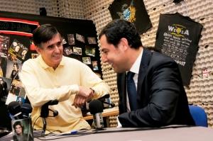 El secretario José Manuel Moreno Bonilla, durante la entrevista en FLMRadio