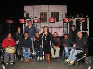 Grupo de usuarios de la FLM Radio en Ficcion Sonora de RNE3