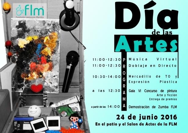 Cartel Dia de las Artes 2016