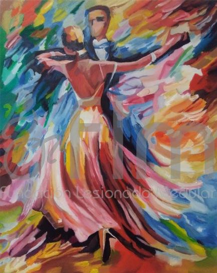 Pintura de Carmen Oliva (1er Premio VI Certamen FLM)- Óleo sobre tabla 50x40cm