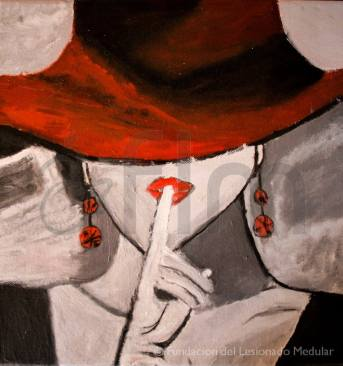 Cuadro de Carmen Jaro. Óleo sobre lienzo - 30x30 cm