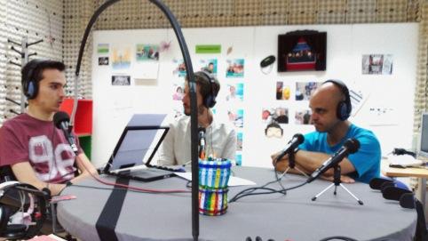 Álvaro, Joaquín y Óscar - 'Parada en Boxes'