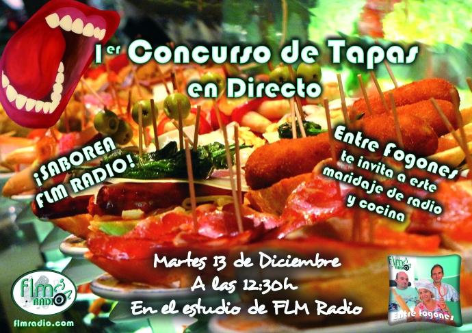 1er Concurso de Tapas en directo - FLM Radio