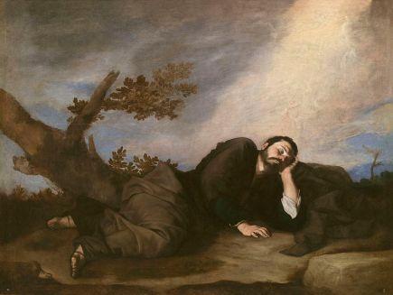 """""""El sueño de Jacob"""", por José de Ribera."""