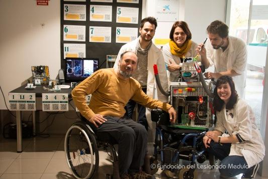 Lolito con Miguel, Antonio, Bárbara, Joaquín y María