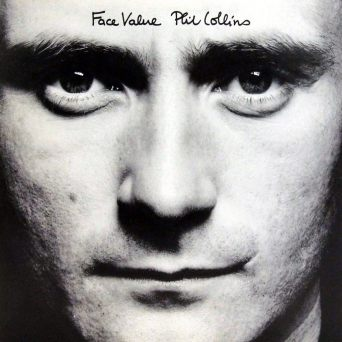 Portada del disco 'Face Value' - Phil Collins