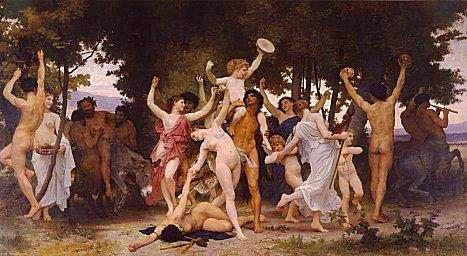 Celebración de la Saturnalia romana