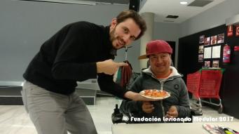 El Chef Josemi y el pinche Joaquín