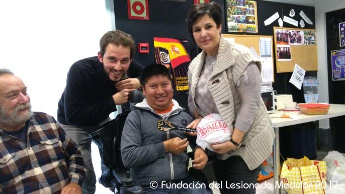 ¡Josemi Tomalo ganador del concurso! Con Susana Martín y Joaquín Rosillo