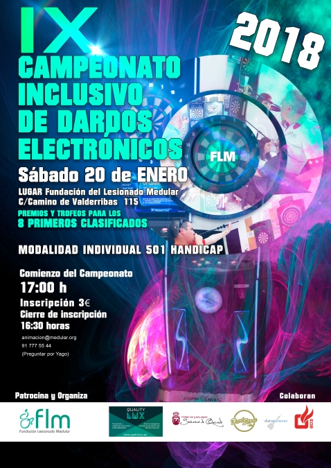 IX Campeonato Inclusivo de Dardos FLM