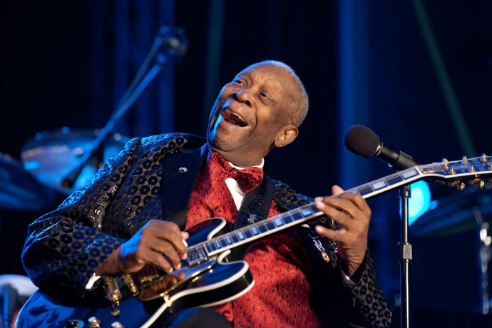 bb king white house concierto
