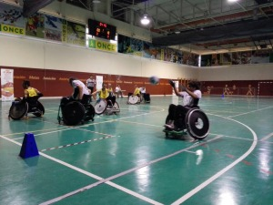 Equipo Quad Rugby FLM Madrid