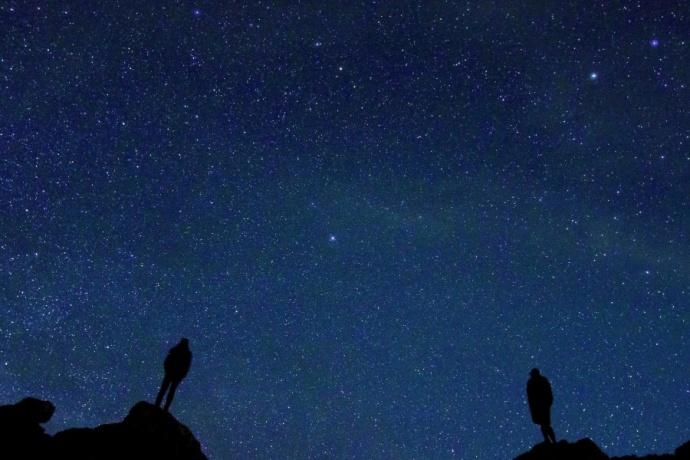 Stars, night conticinio