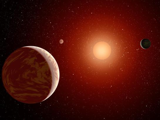 exoplanetas estrella roja planetas