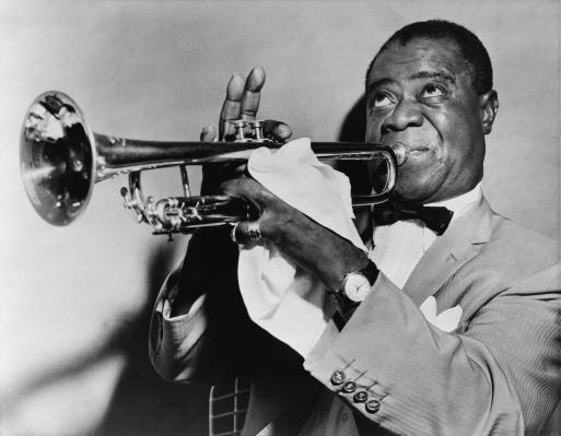 armstrong jazz trompeta
