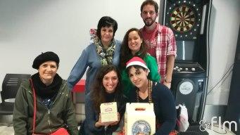 Foto de familia con las ganadoras