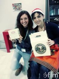 ¡Las ganadoras! Marta y Yoli posan felices con los premios